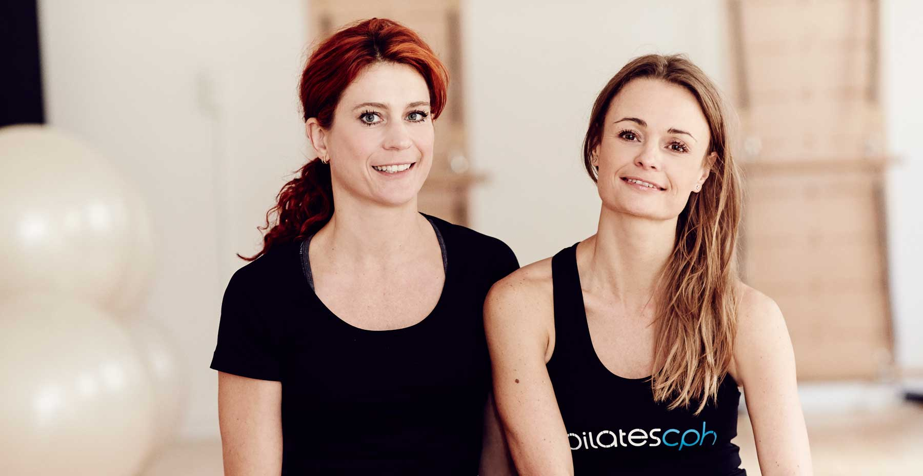 Camilla Bækholm & Gitte Peirano - owners and instructors of Pilates Cph