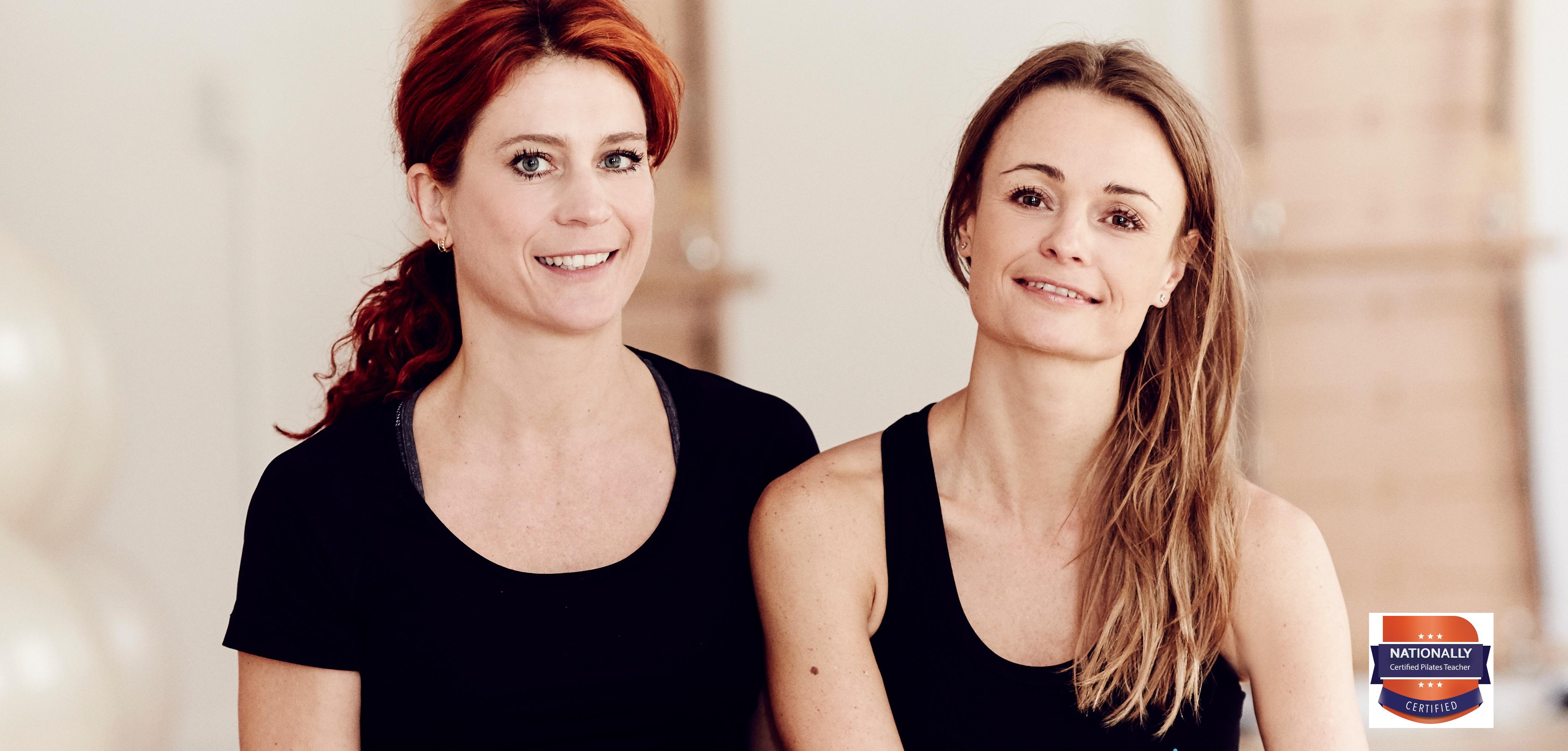 Camilla Bækholm & Gitte Peirano - ejere og stiftere af Pilates Cph